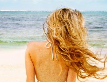Волосы, море и солнце