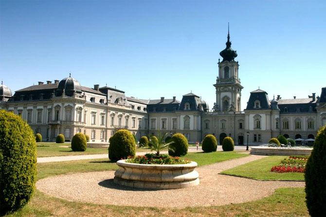дворец семейства Фештетич, Хевиз, Венгрия