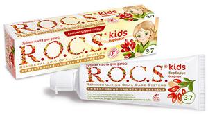 Зубная паста R.O.C.S. Kids для детей 4−7 лет