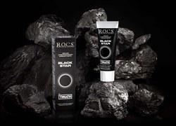 Новинка от знаменитого бренда  R.O.C.S.: черная зубная паста для белоснежной улыбки