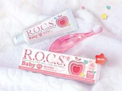 Специалисты R.O.C.S.® разработали натуральное средство для защиты первых зубов малышей