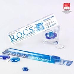 Зубная паста R.O.C.S. Белый стих поможет улыбке засверкать уже после первого применения